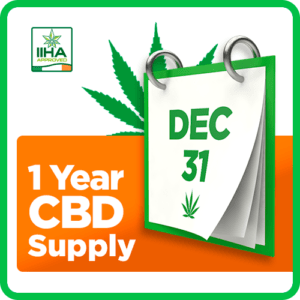 1 Year CBD Supply